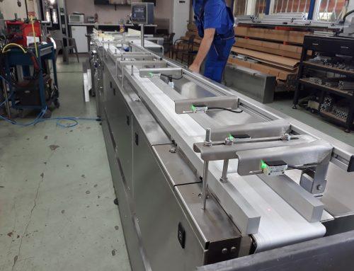 Изработване на система за автоматично зареждане на пакетираща машина – Модул 1 и Модул 2.